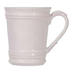 Juliska Relish House Acanthus Whitewash Mug