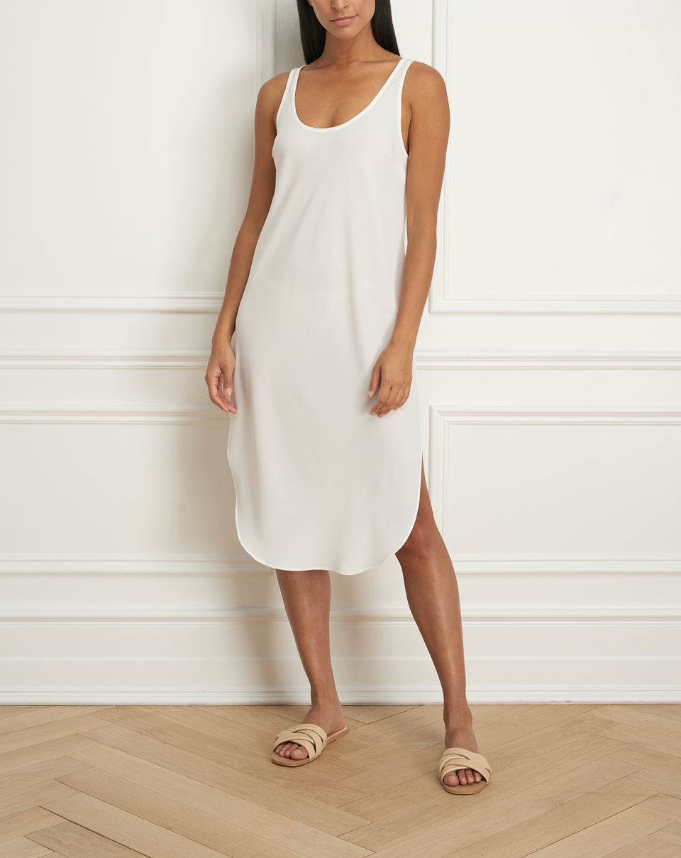Long slip dress