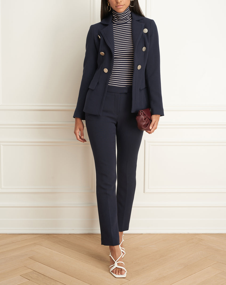 Jacket With Peplum