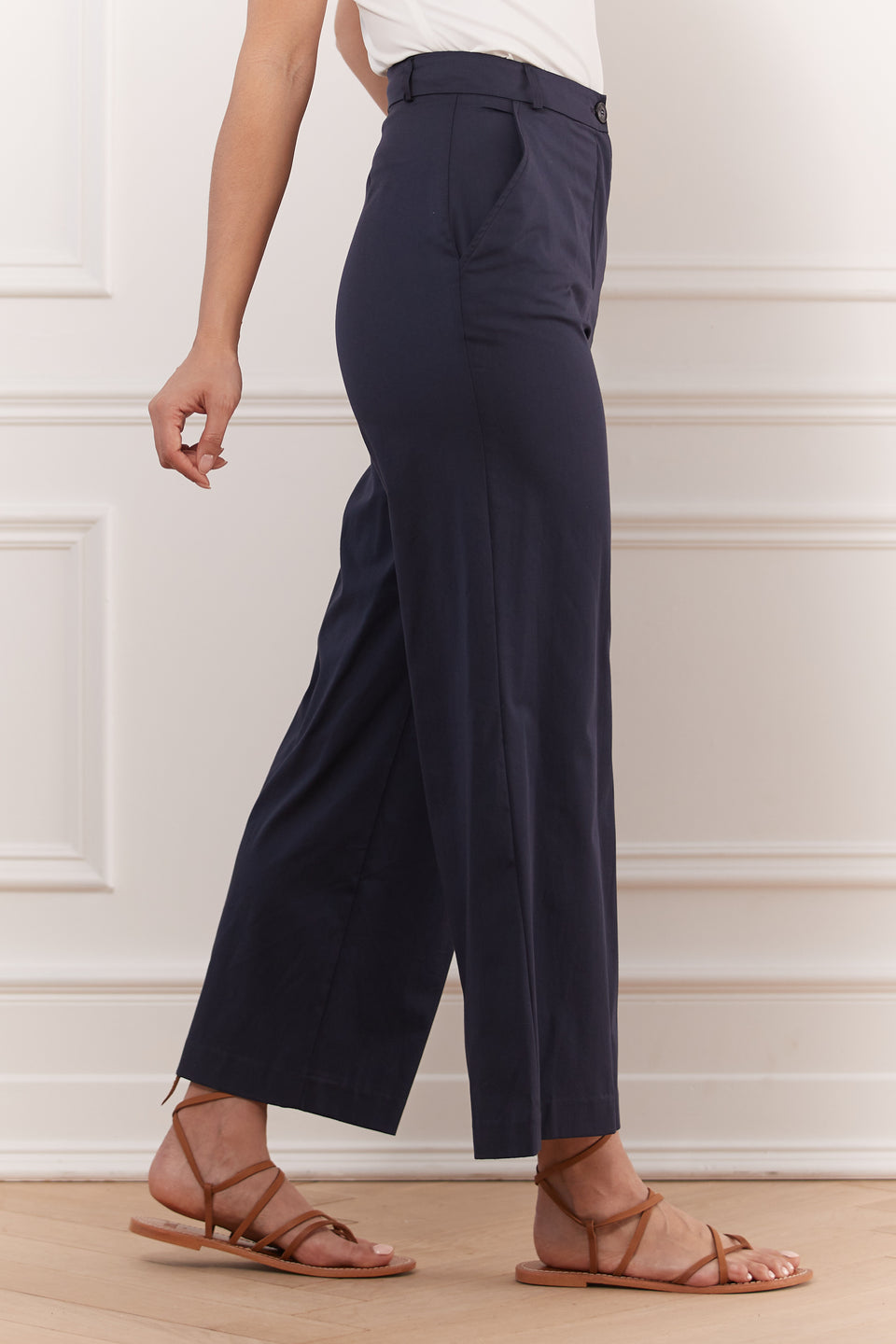 Fine Cotton Gaucho Pant