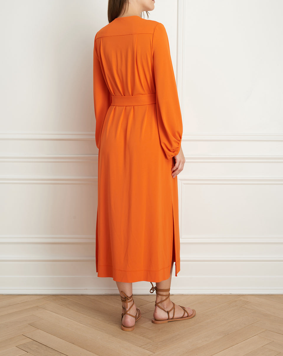 Maxi Dress with billowy sleeves