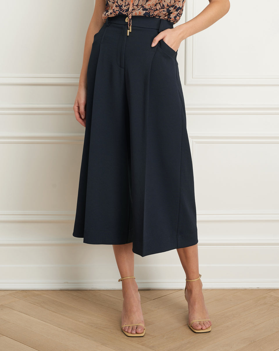 Gaucho pant with pockets