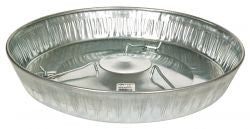 "17"" Hanging Poultry Feeder Pan"