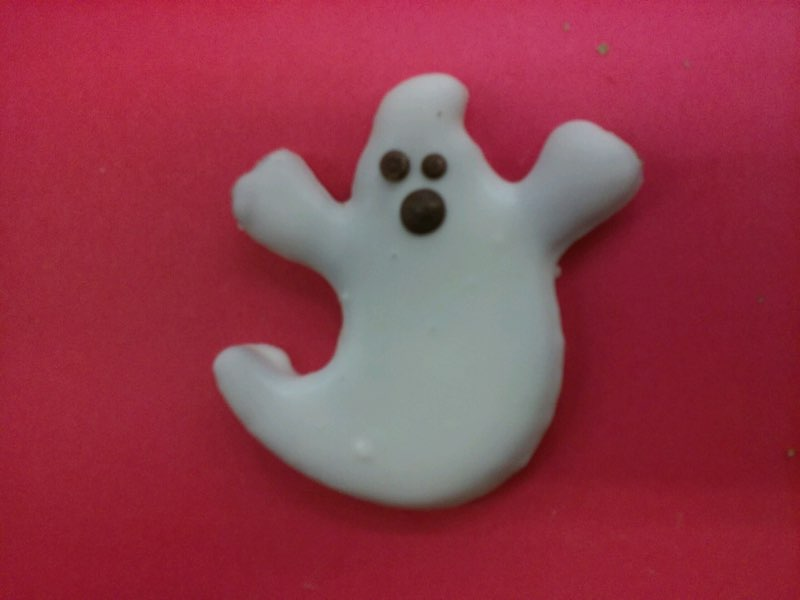 All Natural Halloween Cookie - Ghost