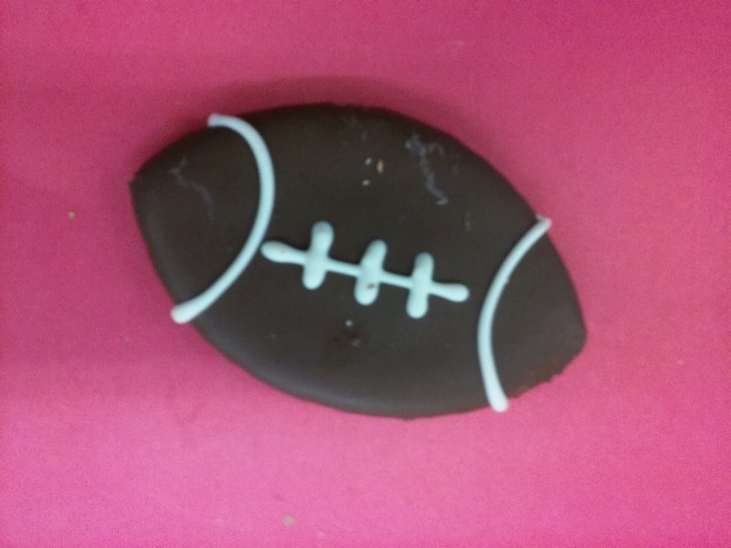 All Natural Dog Cookie - Football