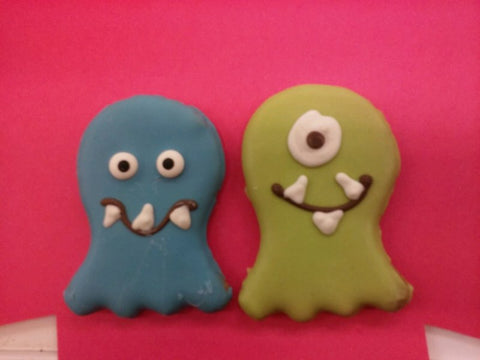 All Natural Halloween Cookie - Monster