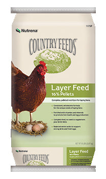 Nutrena Country Feeds Layer 16% Feed Pellet