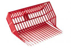 DuraPitch II Stall Fork Head, Red