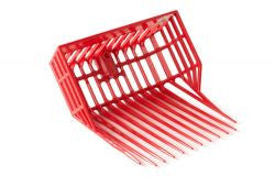 DuraPitch I Stall Fork Head, Red