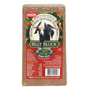 HerdLife Billy Block Mineral For Goats 4lb