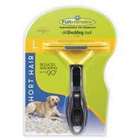 Furminator Short Hair Dog Deshedding Tool, Large