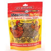 Hentastic Mealworm To Go Chicken Treats 3.5 oz.
