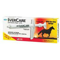 Ivercare Wormer Paste Syringe For Horses, .26 oz.