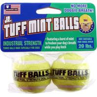 Jr. Tuff Mint Balls Dog Toy