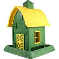Large Green Barn Birdfeeder