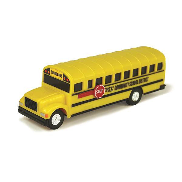 Learning Curve Collect N Play School Bus