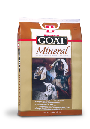 Purina® Goat Chow Mineral® 25 Lb.