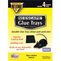 Revenge Baited Glue Trays For Mice, 2 Trays