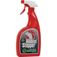 Rodent Stopper Mouse & Rat Repellent Rtu Bottle, 32 oz.