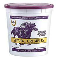 Vita B-1 Crumble Feed Supplement For Horses, 2.5 Lb.