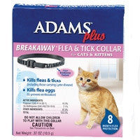 Flea & Tick Control Breakaway Collar for Cats