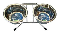 Double Diner Feeder With Wire Frame