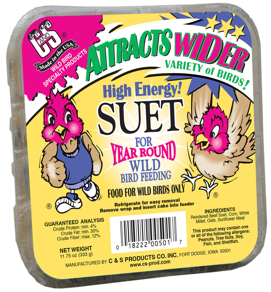 High Energy Wild Bird Suet 3.5 Lb.