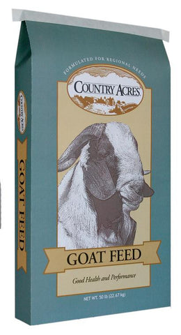 Country Acres Goat Feed 50 Lb.