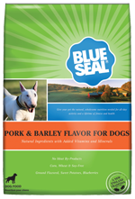 Pork & Barley Dog Food
