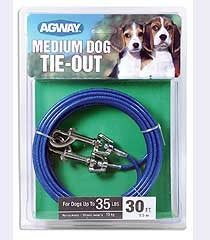 Agway Medium Dog Tie Out, 30ft