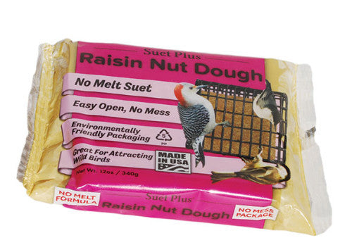 Suet Plus Raisin Nut Dough
