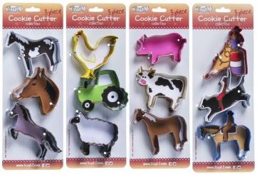 Tough1 3 Piece Cookie Cutter Collection