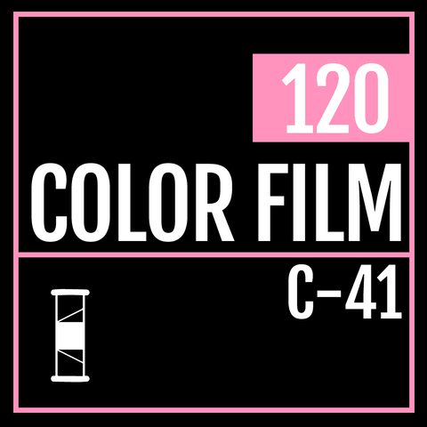 120 Color Film Processing