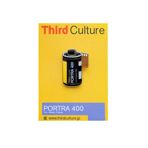 "Third Culture ""Portra 400"" Pin"