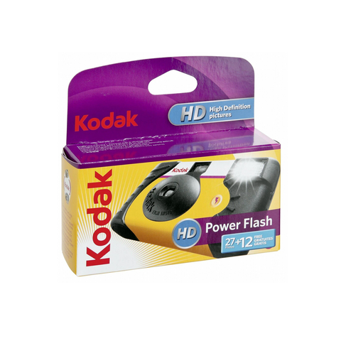 Kodak Power Flash HD Disposable Camera