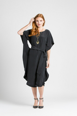 fair trade silk kaftan