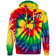 Dobre Twins  Dobre Brothers CD877 Tie-Dyed Pullover Hoodie