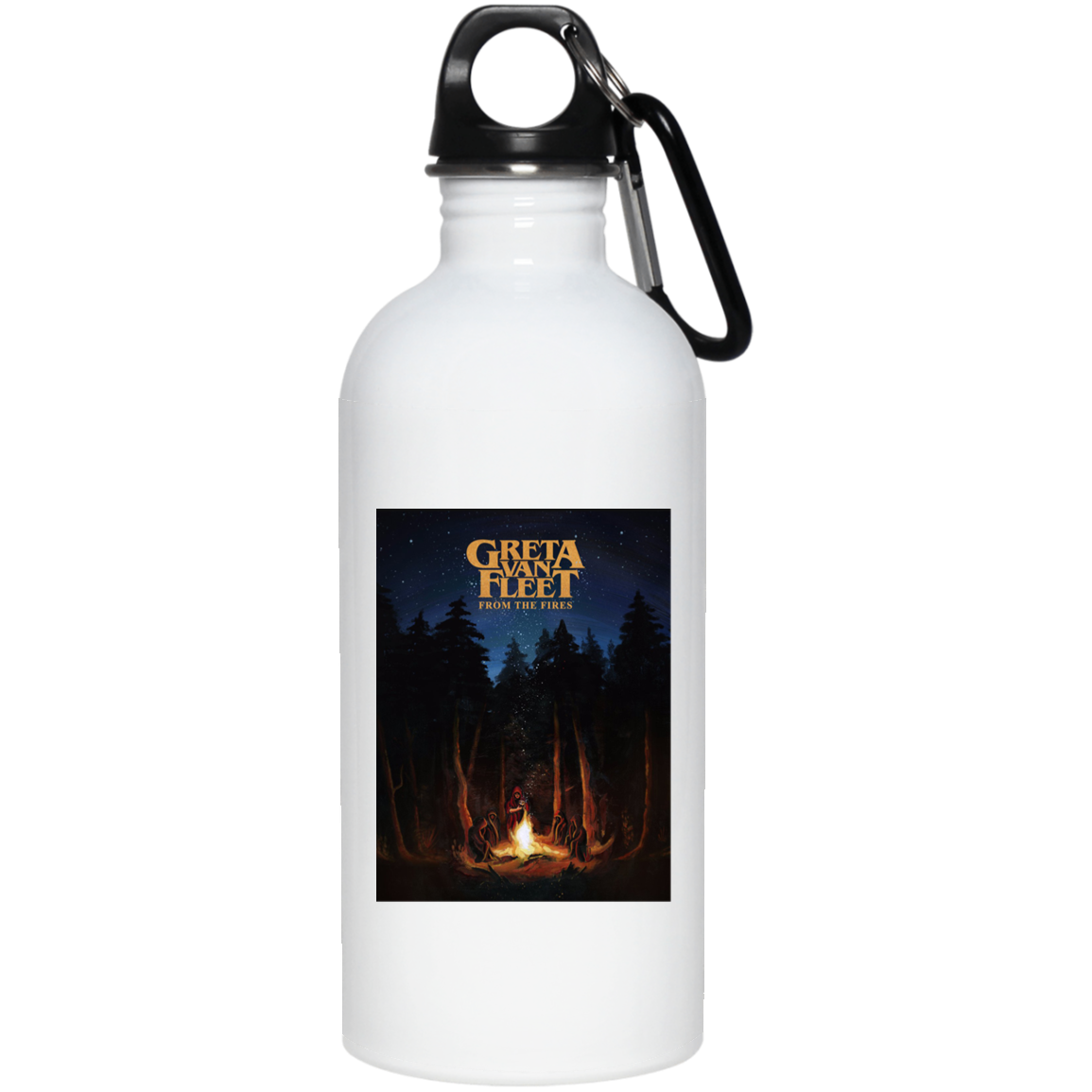 Greta Van Fleet From The Fires 23663 20 oz. Stainless Steel Water Bottle