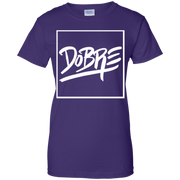 Dobre Twins Dobre Brothers Gildan Ladies' 100% Cotton T-Shirt