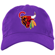 Chicago Sports Team BX001 Brushed Twill Unstructured Dad Cap