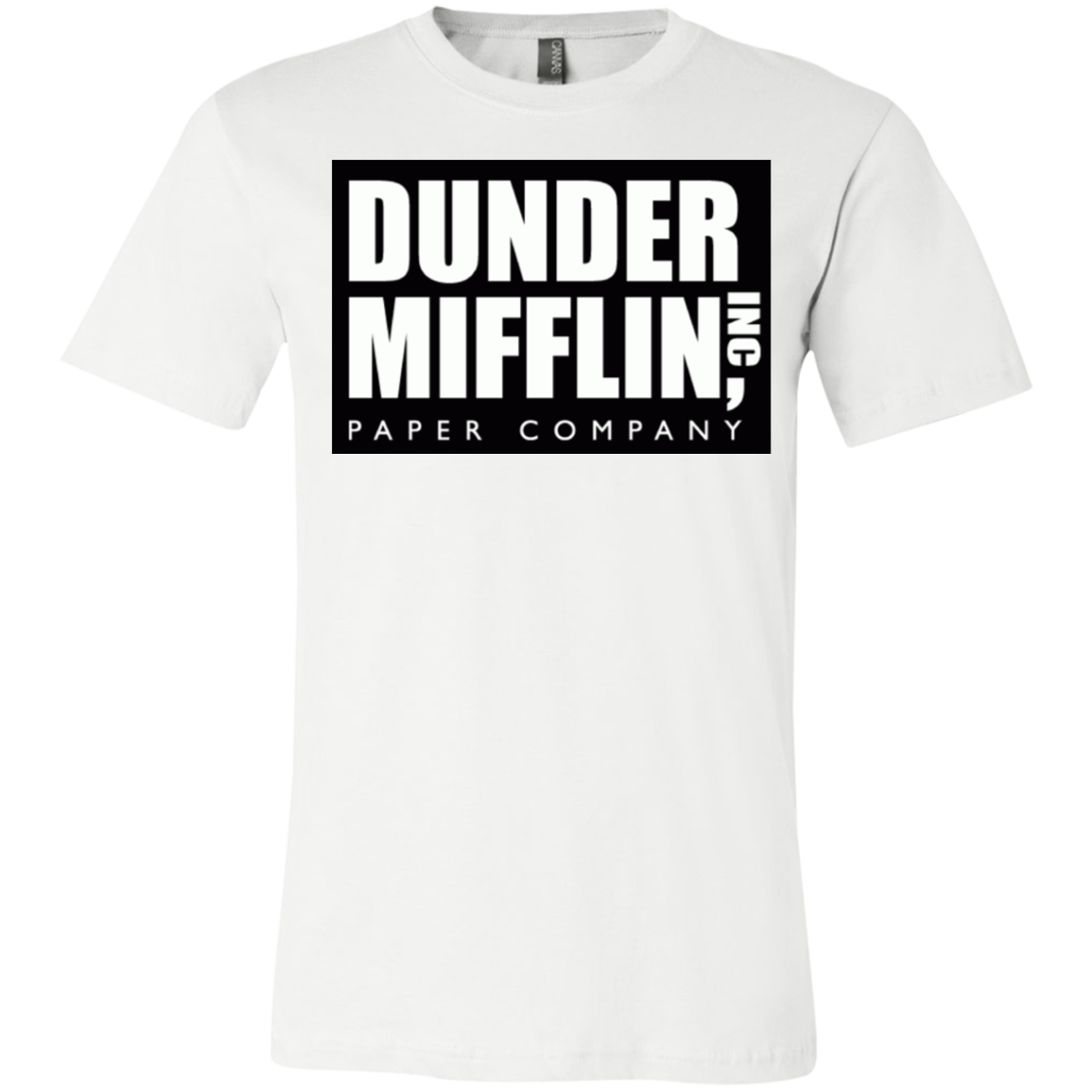 Dunder Mifflin 3001Y Bella + Canvas Youth Jersey Short Sleeve T-Shirt