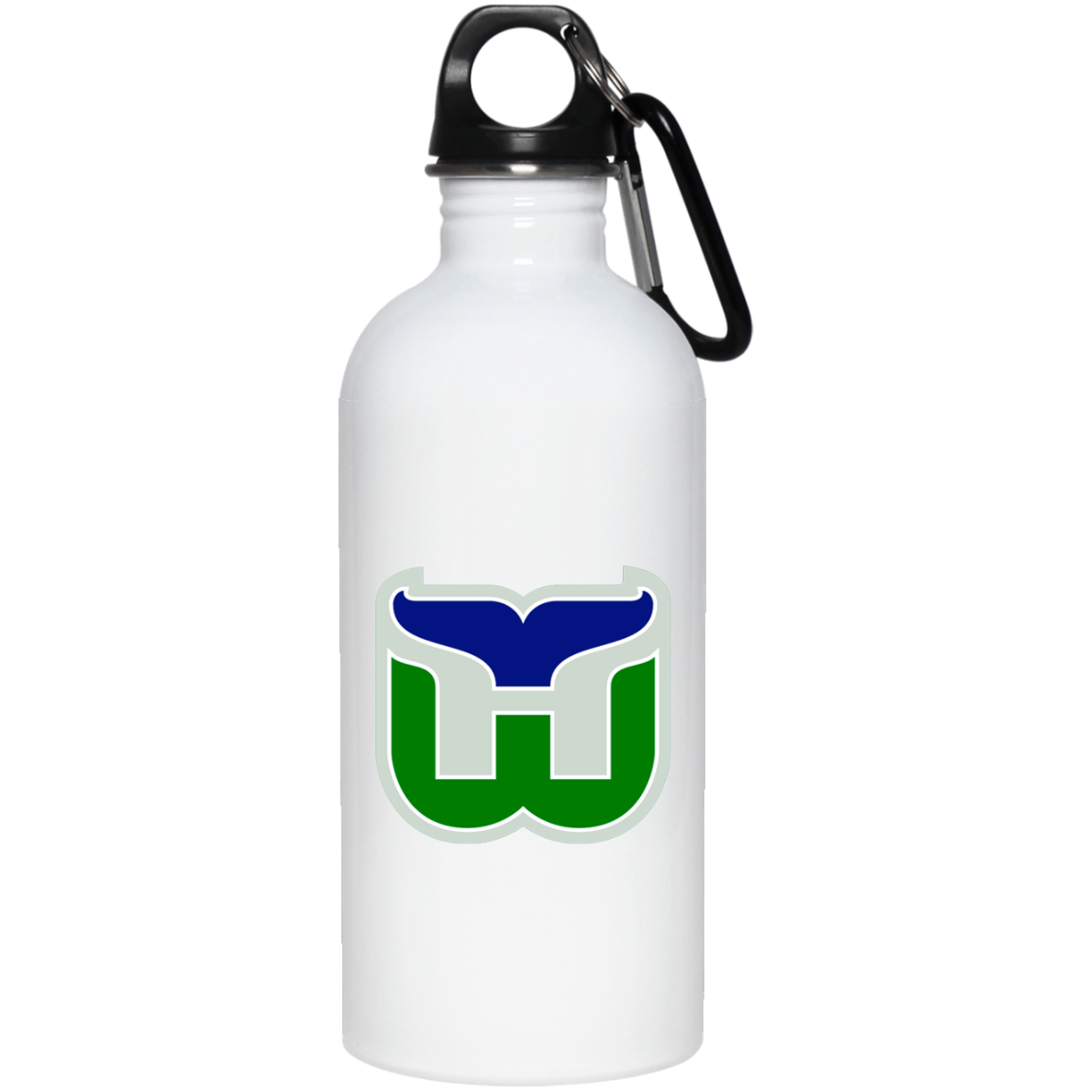 Hartford Whalers Hockey Retro 23663 20 oz. Stainless Steel Water Bottle