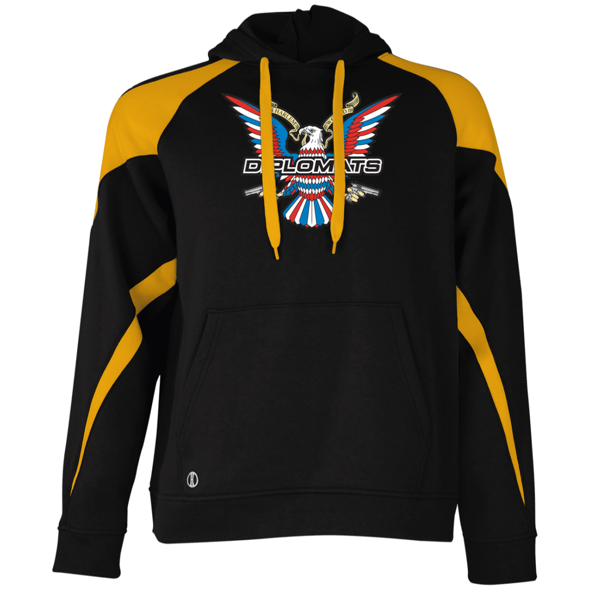 Diplomats Dipset 229546 Holloway Colorblock Hoodie