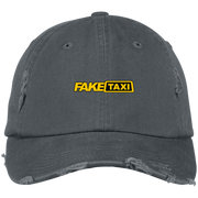 Fake Taxi DT600 District Distressed Dad Cap