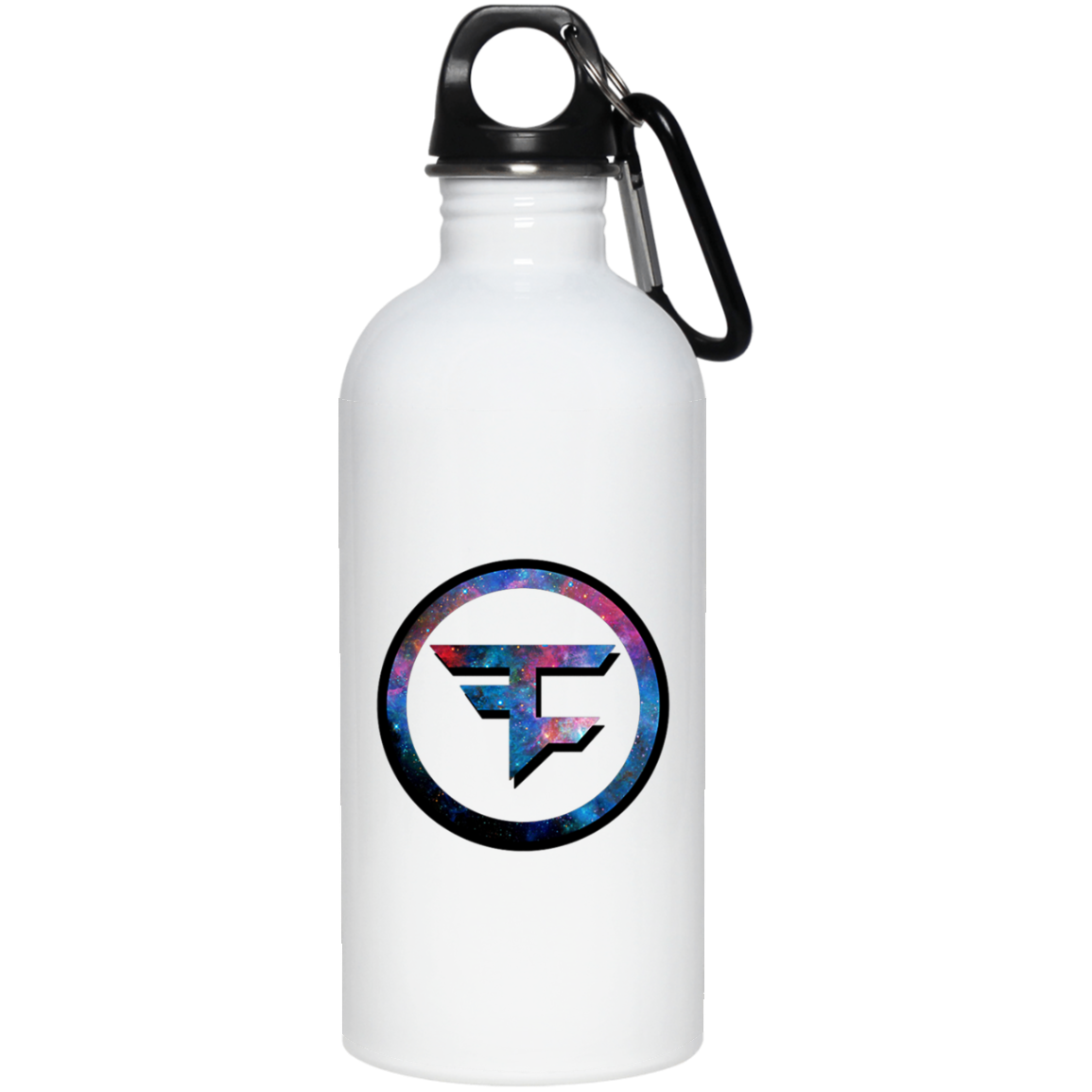 Faze Clan Galaxy 23663 20 oz. Stainless Steel Water Bottle