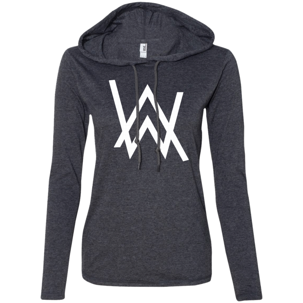 Alan Walker 887L Anvil Ladies' LS T-Shirt Hoodie