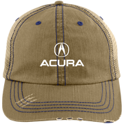 Acura 6990 Distressed Unstructured Trucker Cap