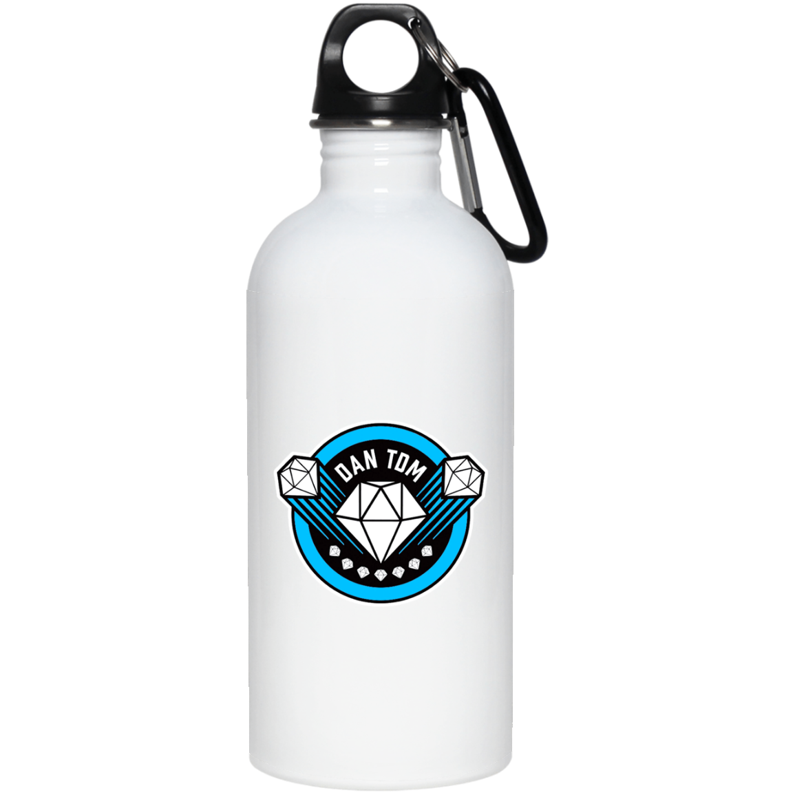 Dantdm!!!! 23663 20 oz. Stainless Steel Water Bottle