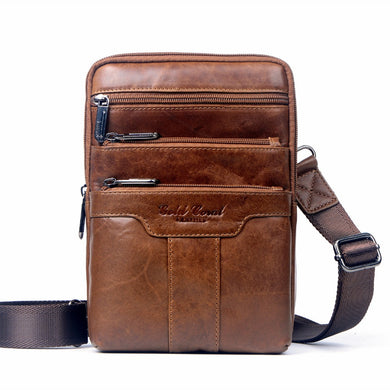 694f7678b1 100% genuine leather small business men messenger bags cowhide travel shoulder  bags for men cross