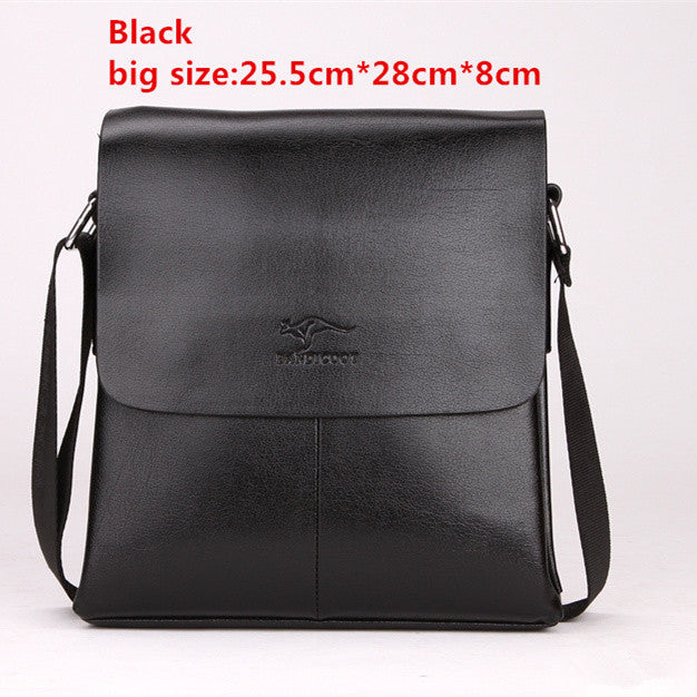 c3e9c121d56bc1 ... 2016 new man vertical leather bag men messenger commercial men's  briefcase designer handbags high quality shoulder ...